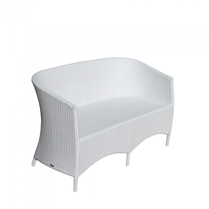 Диван двухместный белый Verona  V002-white