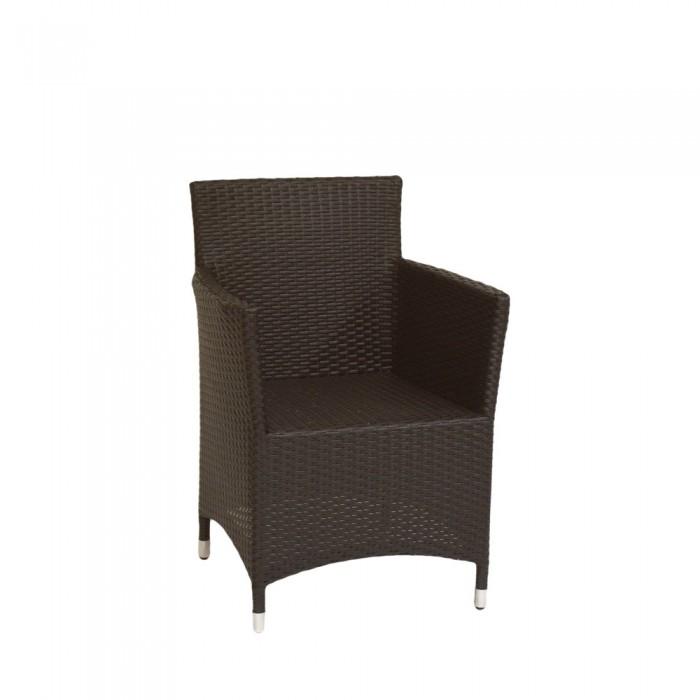 Кресло коричневое Asgard