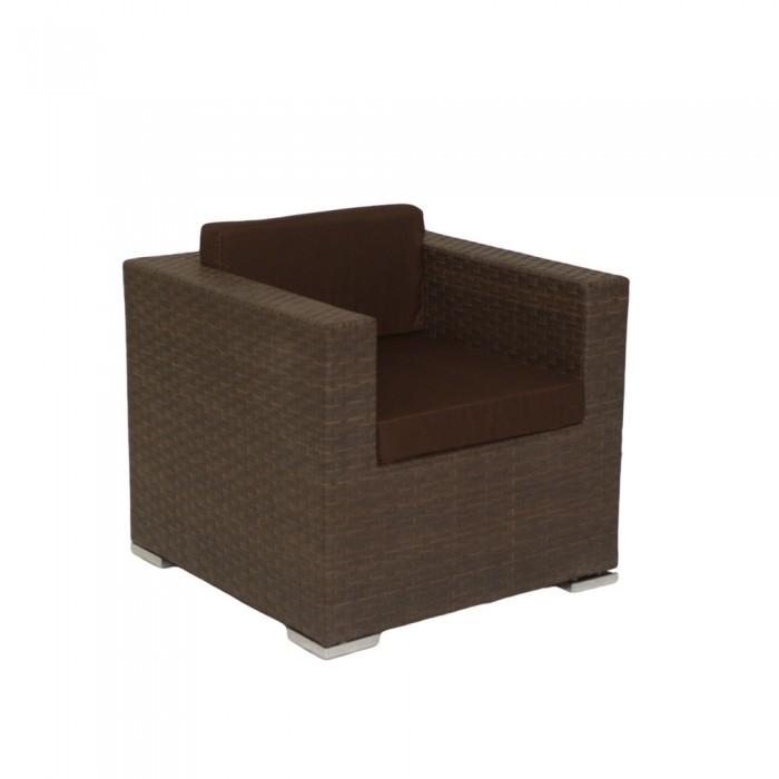 Кресло коричневое Grand  G003r