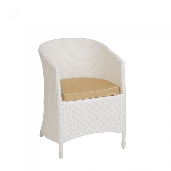 Кресло белое Verona  V001-white