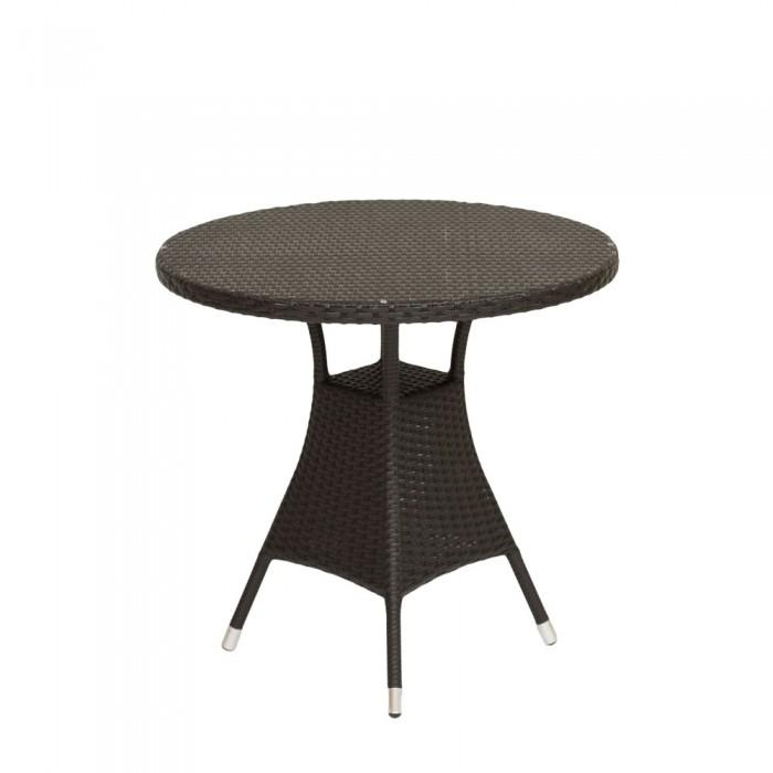Стол обеденный коричневый 80см Verona  V003-80r