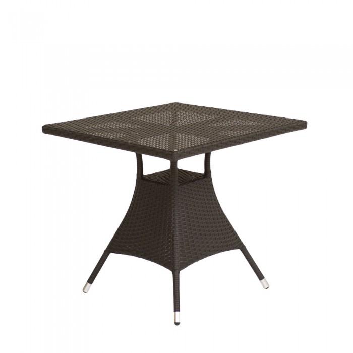 Стол обеденный черный 80см Verona2  V006-80r