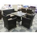 Стол обеденный черный 80см Verona2  V006-80r - фото 4